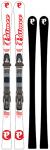 P02 Carbon Plus 163 White/Red & Binding Freeflex 14