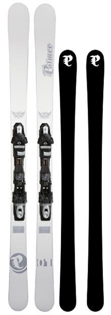 P01 Freestyle Twin Plus & Binding SP 12 Black