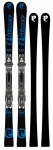 P02 Carbon Plus 155 Black/Blue & Binding RX 12 Black