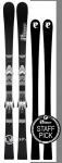 P02 Carbon 172 Black/Silver & Binding LD 12 Silver