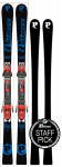 P02 Carbon Plus 163 Black/Blue & Binding Pro 14 Red