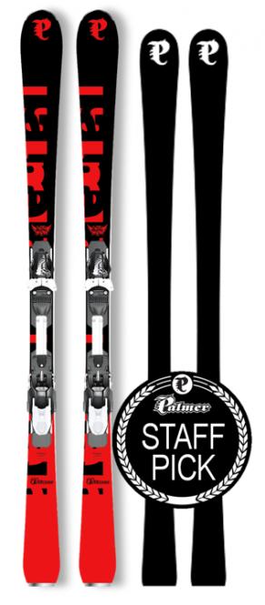 P02 Carving Plus 165 Black/Red & Binding RX 12 Black